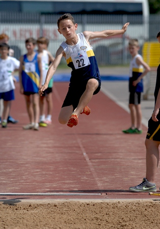 Jack Williamson Nat Grade 2 4 60 Metre Jump At YDL 13072013 Hull Courtesy Ian Williamson 2 -3119