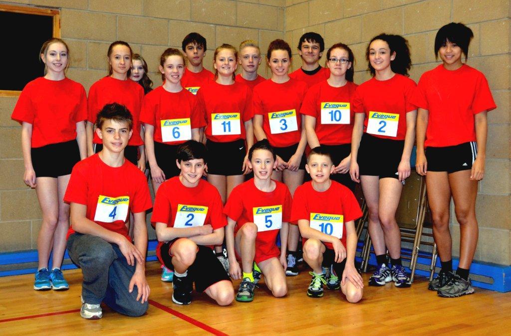 Sporthall Rigional Final 160213 Robin Park Wigan Cheshire Team Picture Courtesy Of Ian Williamson-3211