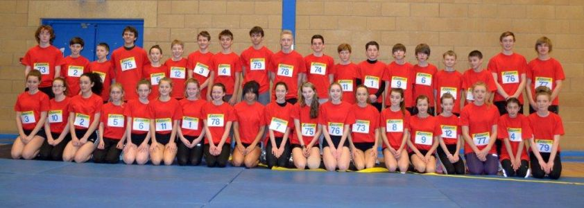 Sporthall Rigional Final 160213 Robin Park Wigan Cheshire Team-3215