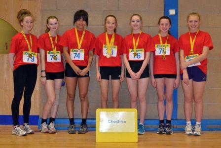 Sporthall Rigional Final 160213 Robin Park Wigan Cheshire Team U15 Girls-3214