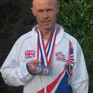 Tony scoops gold and silver at the British Champs