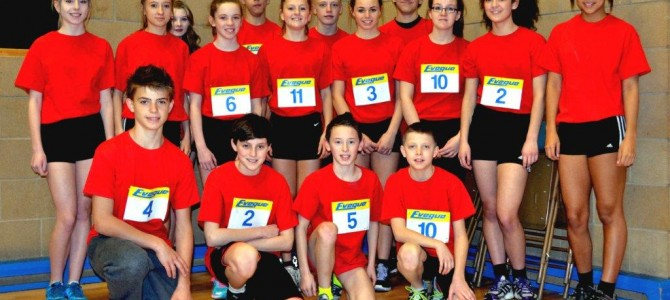 North West Sportshall Regional Final