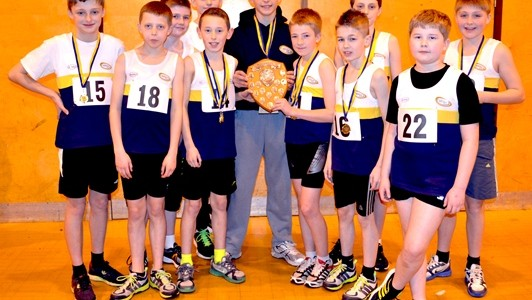 North West Sportshall League Hat-trick